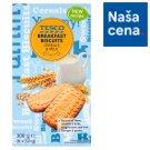 Tesco Breakfast Biscuits Cereals & Milk 6 x 50 g