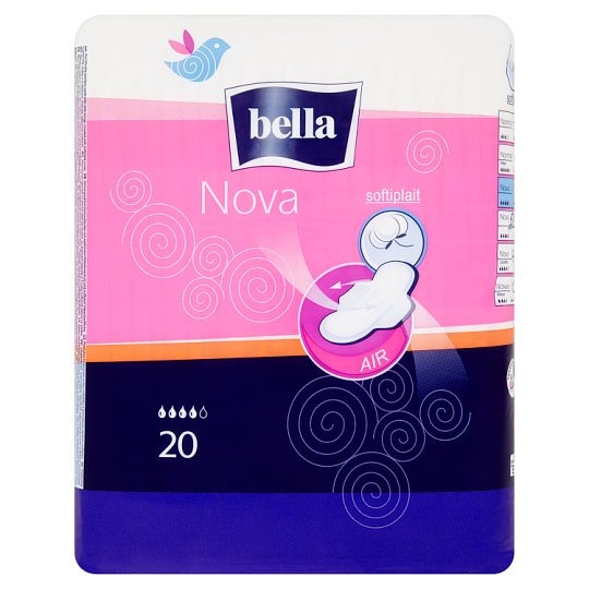 Bella Nova Breathable Sanitary Pads with Wings 20 pcs