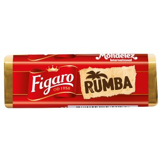 Figaro Rumba Dark Chocolate with Filling with Rum Flavour 32 g