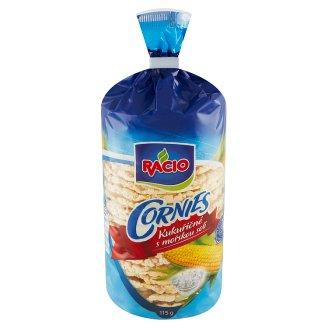 Racio Cornies Kukuričné chlebíčky s morskou soľou 115 g