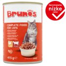 Brunos Complete Food for Cats with Poultry and Beef 415 g