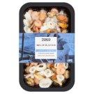 Tesco Zmes morských plodov, glazúrované, s pridanou vodou, hlbokozmrazené 225 g