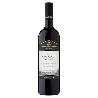 Château Topoľčianky Frankovka modrá slovenské akostné víno D.S.C. suché červené 0,75 l