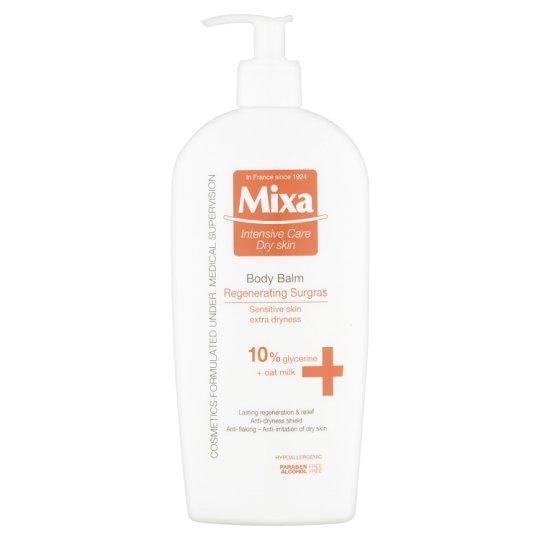 Mixa Intensive Care Dry Skin Regeneračné premasťujúce telové mlieko 400 ml