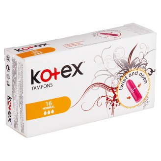 Kotex Normal Tampons 16 pcs