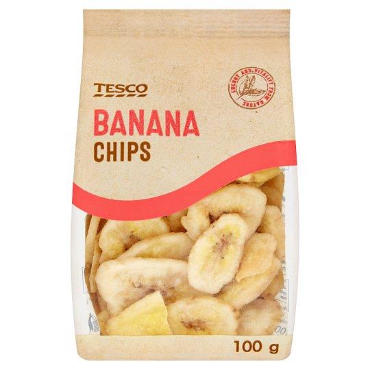 Tesco Banana Chips 100 g