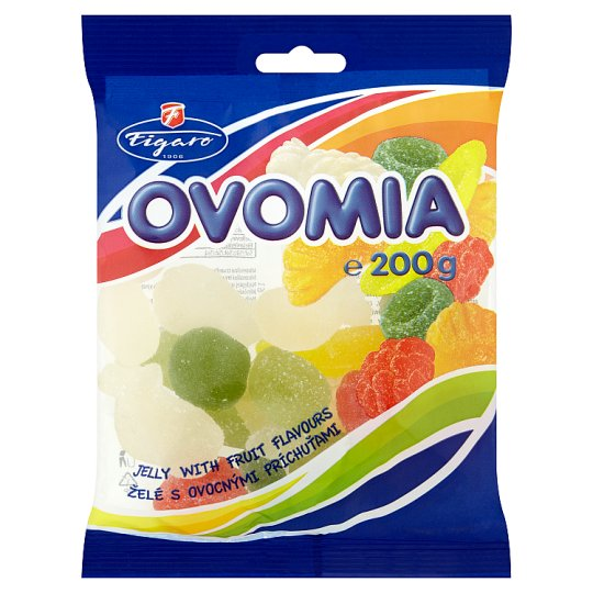 Figaro Ovomia Jelly with Fruit Flavours 200 g