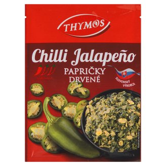 Thymos Chilli papričky Jalapeño drvené 8 g