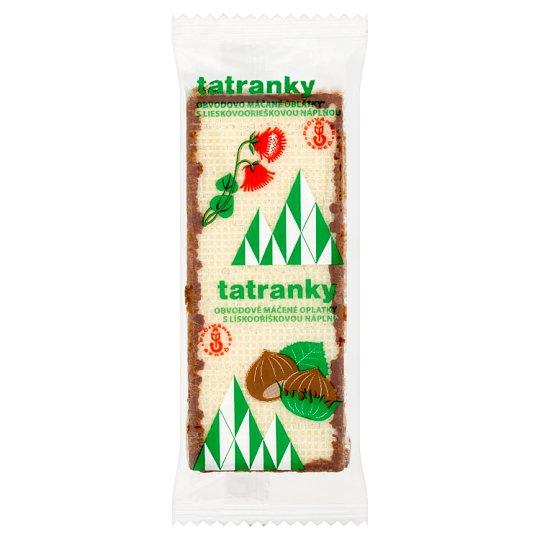 Tatranky Crispy Wafers with Hazelnut Cream Filling in Cocoa Coating 33 g
