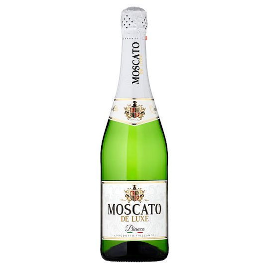 Moscato De Luxe Bianco Alcoholic Carbonated Drink 0.75 L