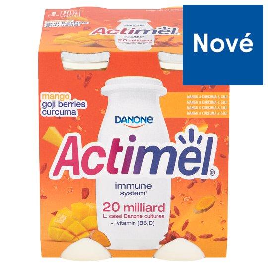 Danone Actimel Jogurtové mlieko mango & kurkuma & goji 4 x 100 g