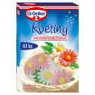 Dr. Oetker Wafer Flowers Decorated Edible with Sweetener 10 pcs