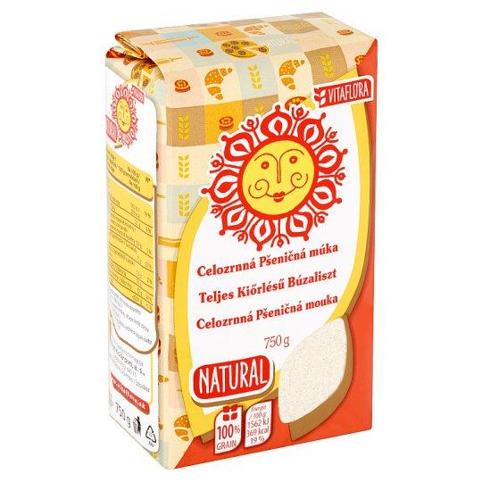Vitaflóra Natural Whole-Grain Wheat Flour 750 g
