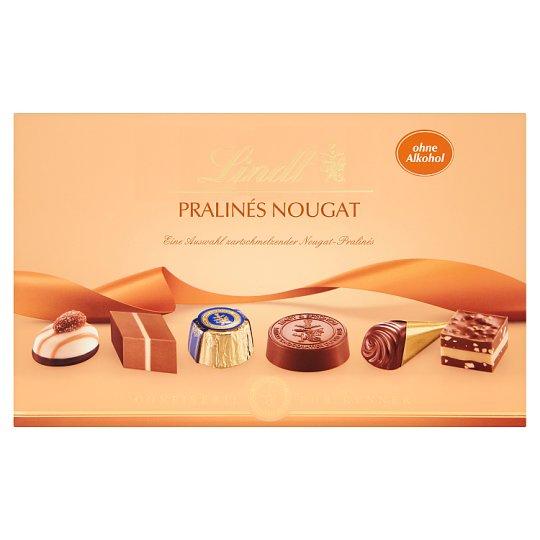 Lindt Pralinés Nougat Mixture of Chocolate Candies from Milk Chocolate 200 g