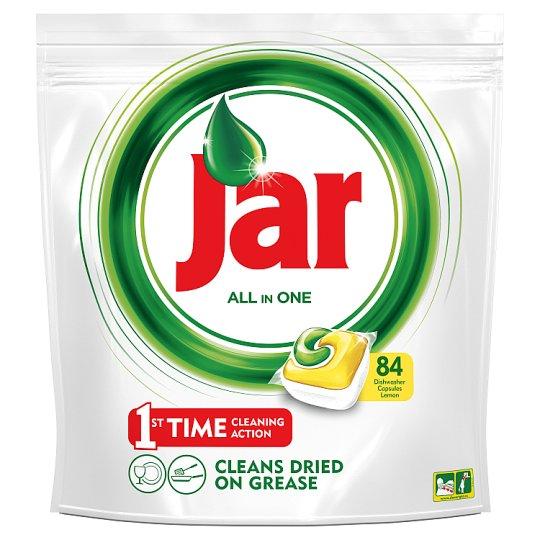 Jar All In One Lemon Kapsuly do Automatickej Umývačky Riadu 84 kusov