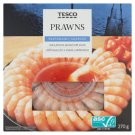 Tesco Cooked Partially Peeled Prawns with Sweet-Spicy Sauce 270 g