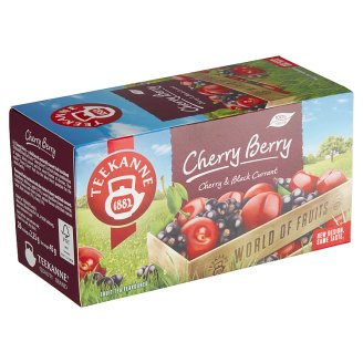 TEEKANNE Cherry Berry, World of Fruits, 20 x 2,25 g