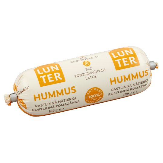 Lunter Hummus Vegetable Spread 100 g