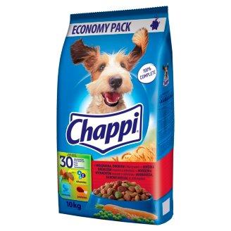 Chappi S hovädzím a hydinovým mäsom a zeleninou 10 kg