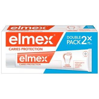 elmex Caries Protection Zubná pasta s amínfluoridom 2 x 75 ml