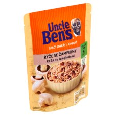 Uncle Ben's Stačí ohriať Rice with Mushrooms 250 g