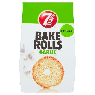 7 Days Bake Rolls Crispy Chips with Garlic Flavour 80 g