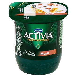 Danone Activia Yogurt with Muesli and Hazelnuts 125 g