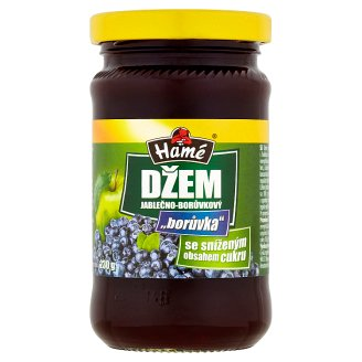 Hamé Apple-Blueberry Jam with Reduced Content of Sugar 230 g