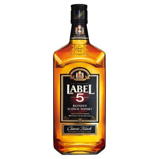 Label 5 Blended Scotch Whisky 40% 0,7 l