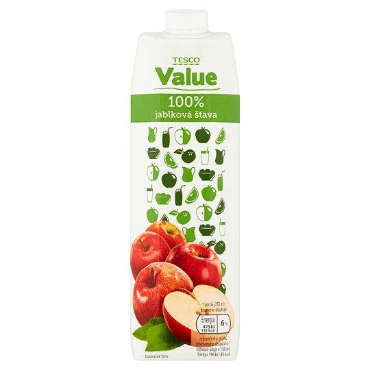 Tesco Value 100% Apple Juice 1 L