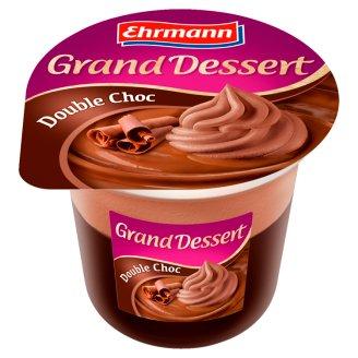 Ehrmann Grand Dessert Čokoládový dezert s kakaovou šľahačkou 190 g