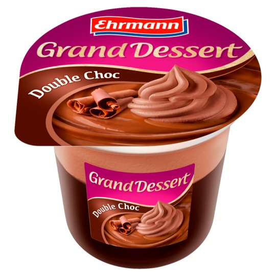Ehrmann Grand Dessert Double Choc 190 g