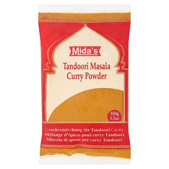 Mida's Tandoori Masala Curry Powder Seasoning Preparation 100 g