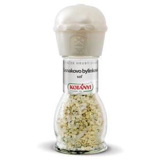 Kotányi Mlynček Cesnakovo bylinková soľ 50 g