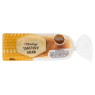 Tesco Butter Toast Bread 500 g