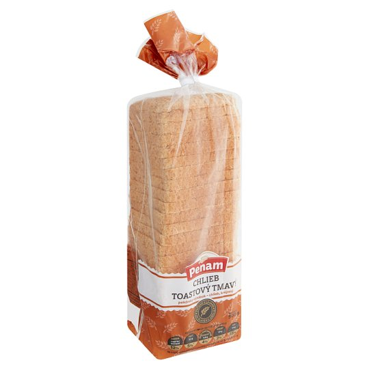 Penam Toasted Dark Bread 500 g
