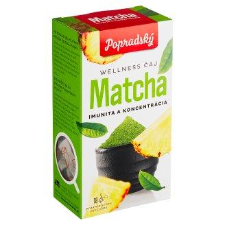 Popradský Zelený čaj + Matcha imunita a koncentrácia 18 x 1,5 g