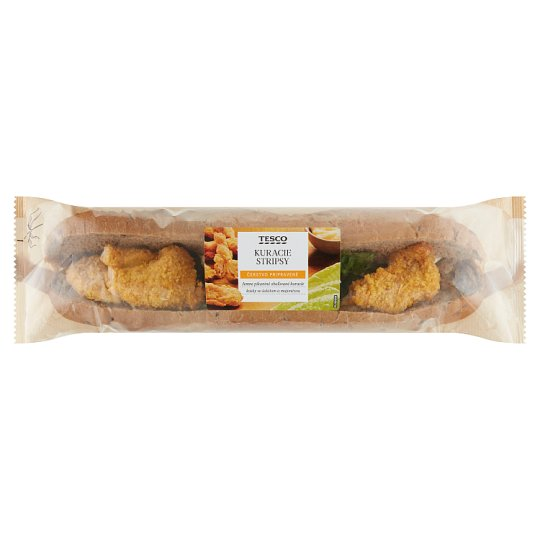 Tesco Chicken Strips Baguette 225 g