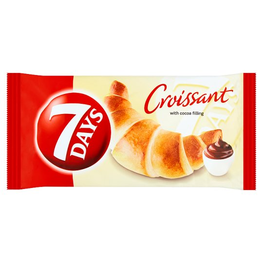 7 Days Croissant with Cocoa Filling 60 g