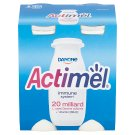 Danone Actimel Yoghurt Milk with Vitamins B6 and D - Sweetened 4 x 100 g