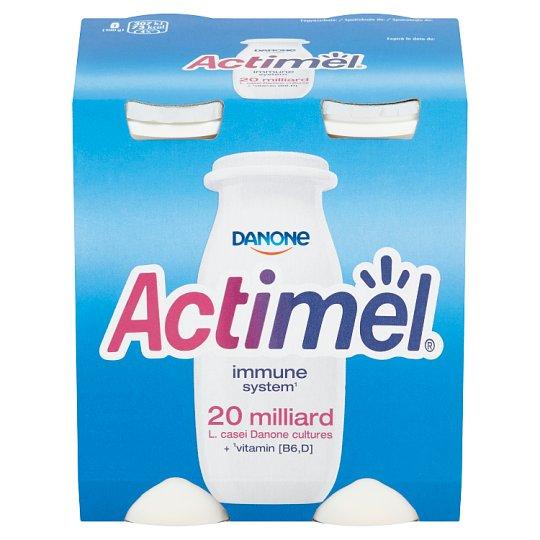 Danone Actimel Yoghurt Milk with Vitamins B6 and D - Sweetened 4 x 100 g