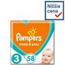 Pampers Sleep & Play, Size 3, 58 Diapers, 6-10 kg