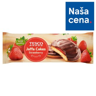 Tesco Jaffa Cakes Strawberry 150 g