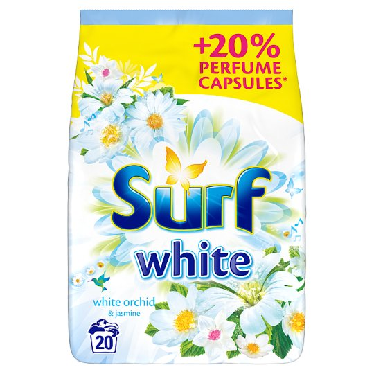 Surf White Orchid & Jasmine Washing Powder 20 Washes 1.3 kg