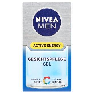 Nivea Men Active Energy Osviežujúci pleťový gél 50 ml