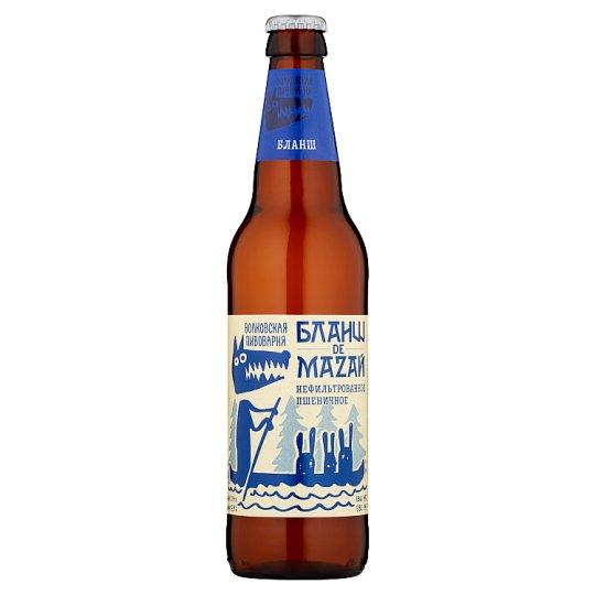 Beer Volkovskaja Pivovarnia Blanche de Mazal 0.45 L