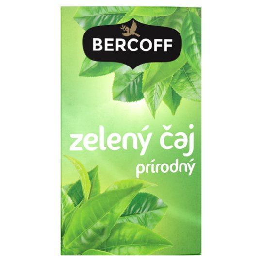 Bercoff Klember Green Green Tea Natural 20 x 1.5 g