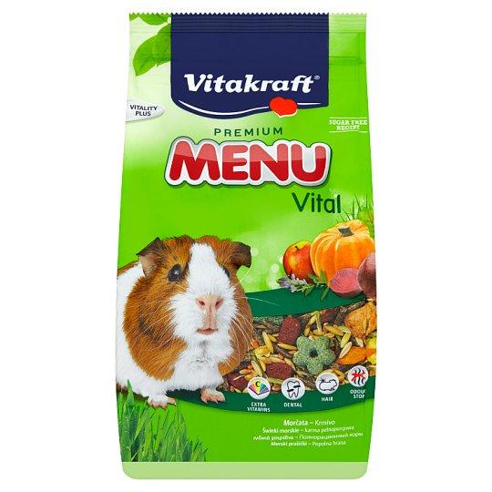Vitakraft Premium Menu Vital kompletné krmivo pre morčatá 1 kg