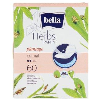 Bella Herbs Plantago priedušné slipové vložky 60 ks