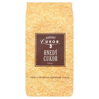 Korunný Cukor Hnedý cukor kryštálový 500 g